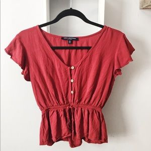 One Clothing Top W/ Buttons